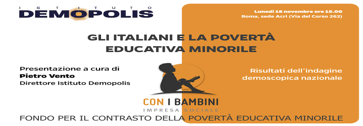 Che cos'è la povertà educativa?